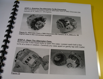 Alternator Conversion Manual